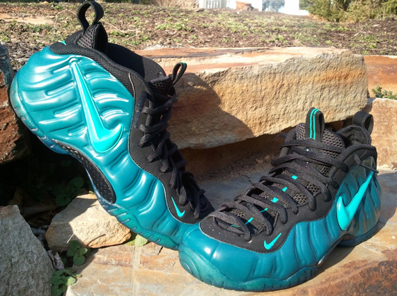 6eaf29f9a7 30%OFF Nike Air Foamposite Pro Atlantis Customs By Peculiar Kinetics ...