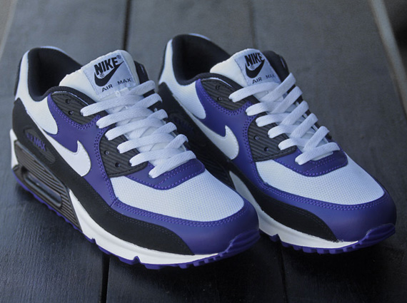 nike air max 90 purple and blue