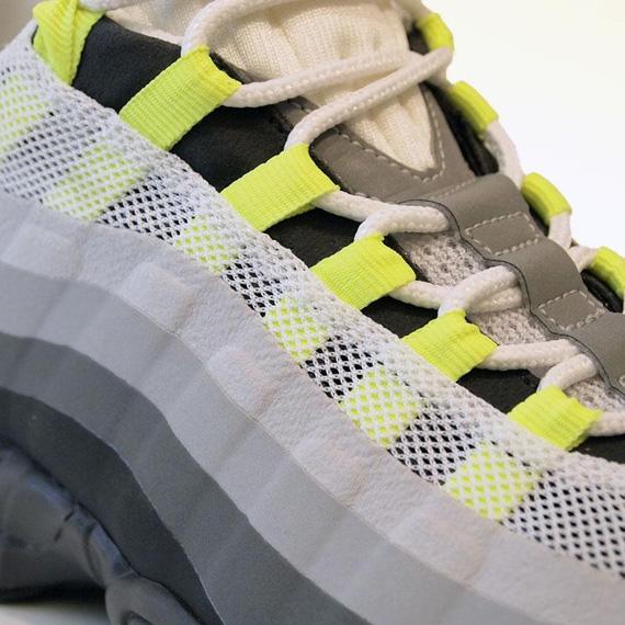 Nike Air Max '95 No Sew AnthraciteCool Grey Volt | Nike