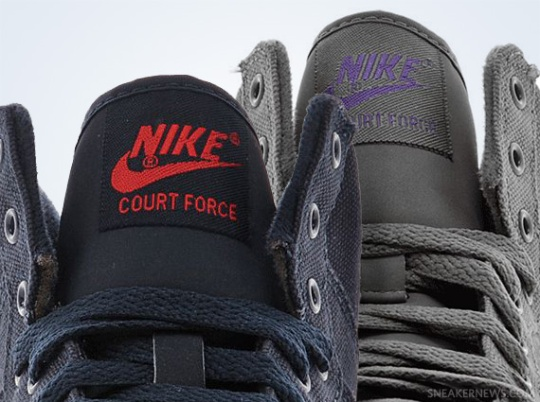 Nike Court Force AC Canvas