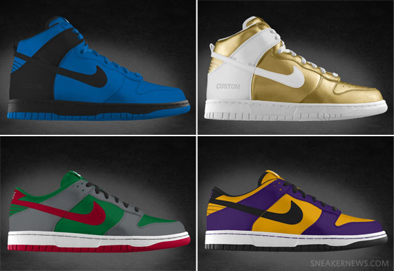 Nike Dunk iD 'Be True' Options - March