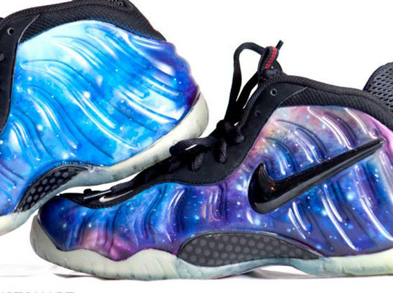 best service f3e7a 95fca Nike Air Foamposite Pro 'Galaxy' Customs By Smooth Tip ...