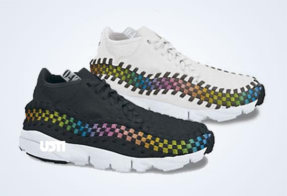 best website 3a946 c234b Nike Footscape Woven Chukka Motion - Rainbow Pack - SneakerNews.com