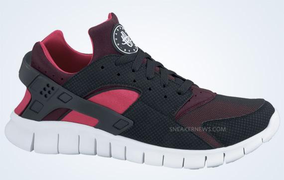 low priced cd44a 60429 Nike Huarache Free Run Black/Black-Red Mahogany-Scarlet Fire 510801-066  $100. Advertisement