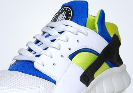 Nike Huarache Free 2012 'OG Inspired' – White – Soar – Cyber