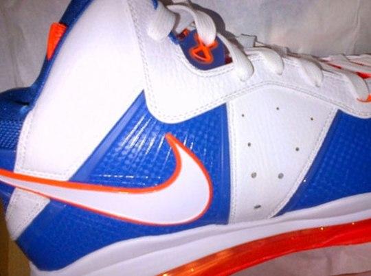 Nike LeBron 8 'Knicks' Sample
