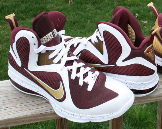 buy popular 47eae 9875d Nike LeBron 9 Christ The King PEs - Detailed Images - Sneake