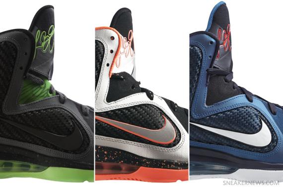 finest selection aeb01 128fb Nike LeBron 9 – Dunkman, Swingman, Mango  Release Reminder