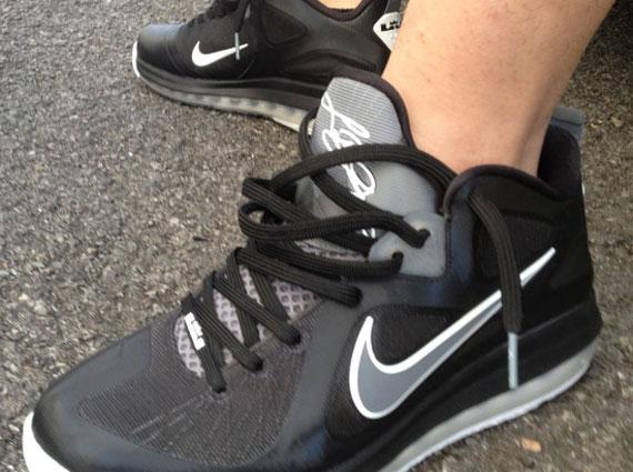 Nike LeBron 9 Low - Black - Cool Grey