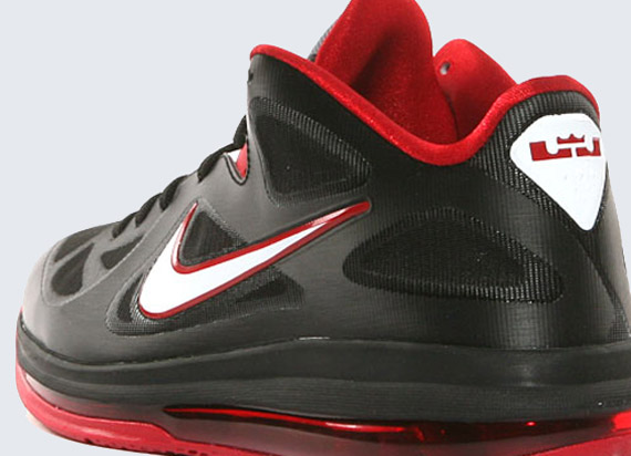sports shoes 046aa abaca Nike LeBron 9 Low - Black - White - Sport Red - SneakerNews.com