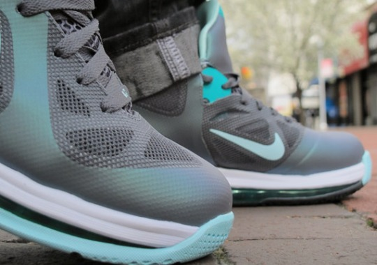 on sale 7d191 7de67 Nike LeBron 9 Low Easter – On-Feet Images