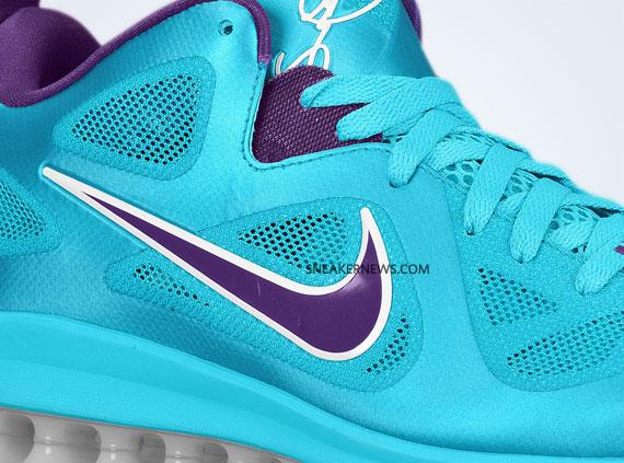 huge discount f4dbb 890d6 Nike LeBron 9 Low – Turquoise Blue – Court Purple