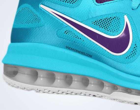 best service 717bc 9679e Nike LeBron 9 Low - Turquoise Blue - Court Purple - SneakerNews.com