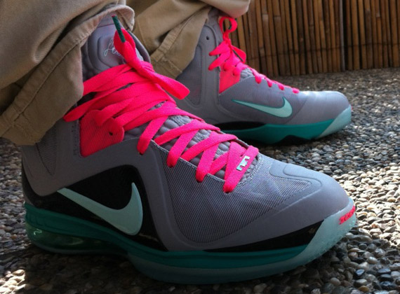 newest 9eabf ccc04 cheap Nike LeBron 9 P.S. Elite Mint Candy Pink Flash   New Images