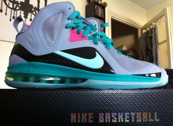 03e5b0f05b4e 70%OFF Nike LeBron 9 P.S. Elite Mint Candy Pink Flash