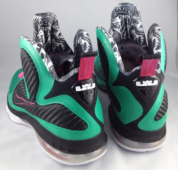 South Beach Lebron 9 Custom