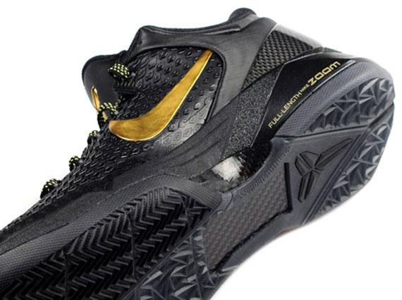 9bfd6646a34c8 Nike Zoom Kobe VII Elite - Black - Metallic Gold - Dark Grey ...