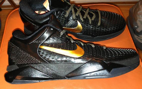 premium selection 5e2c9 8372c Nike Zoom Kobe VII Elite Black Metallic Gold-Dark Grey 511371-001 04 20 12   200. Advertisement. show comments
