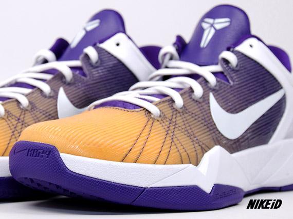 Nike Zoom Kobe VII iD Fade Option Available