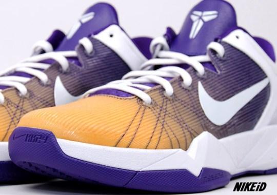 Nike Zoom Kobe VII iD – Fade Option Available