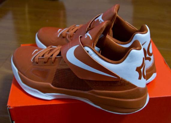 wholesale dealer 9bd77 1954d Nike Zoom KD IV  Texas Longhorns  - Available on eBay - SneakerNews.com