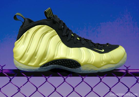 cc649de609e Nike Air Foamposite One  Electrolime  - SneakerNews.com