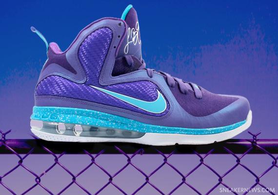 Nike LeBron 9 Summit Lake Hornets