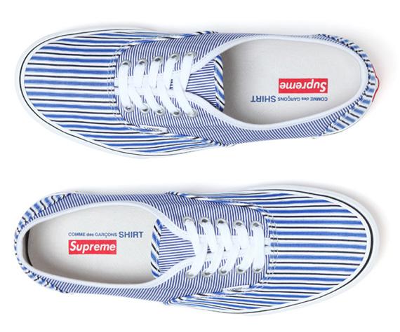 f36c535ff8d1 Comme des Garcons x Supreme x Vans Release Date - SneakerNews.com