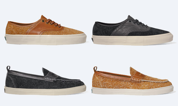 3536d5a90cb56d Vans Vault  Hairy Suede  Pack - SneakerNews.com