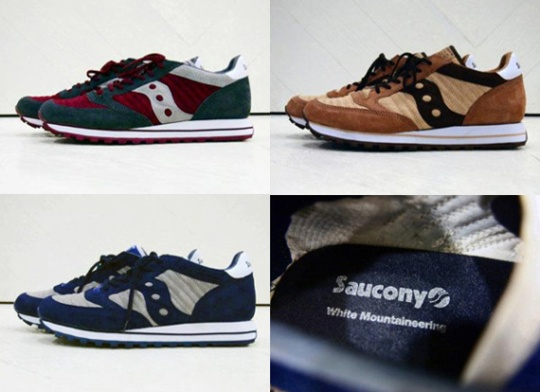 White Mountaineering x Saucony Jazz O