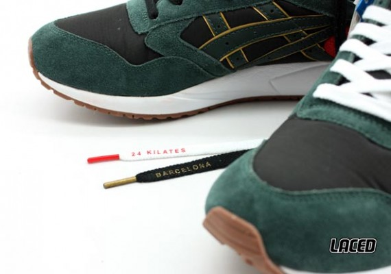 24 Kilates x Asics Gel Saga Detailed Images