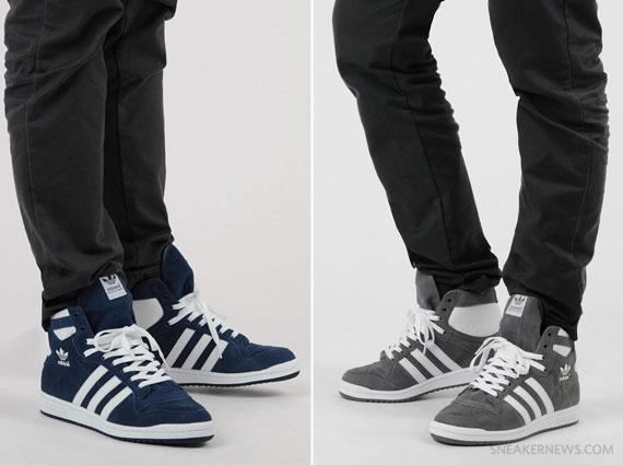 cuenco Nebu Aniquilar  adidas Originals Decade Hi Suede - SneakerNews.com