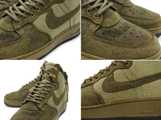 Nike Air Force 1 High Boot – Olive