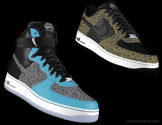 Nike Air Force 1 iD - Safari Options Available - SneakerNews.com a789c6fa4