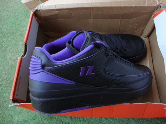 Air Jordan II Low - Mike Bibby Sacramento Kings  Away  PE ... 35841690a229