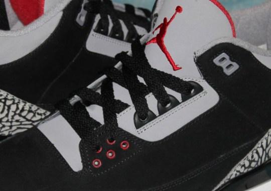 Air Jordan III – Black/Cement Nubuck Sample | Available on eBay