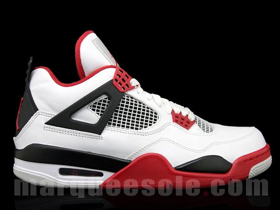 7077a98b44f1 red black white jordans Sale