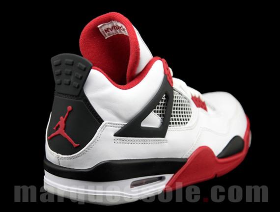 17dd76694be Air Jordan IV White/Fire Red-Black 308497-110 08/2012 $160.00. Advertisement