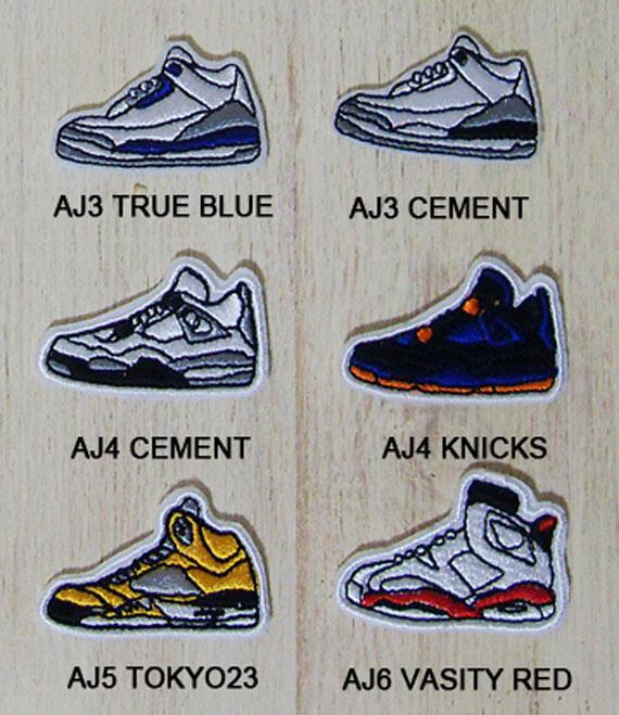 Air Jordan Sneaker Patches - SneakerNews.com