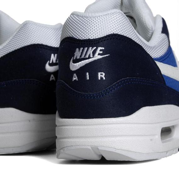 Nike Air Max 1 Midnight Navy White Soar Khaki 308866 407
