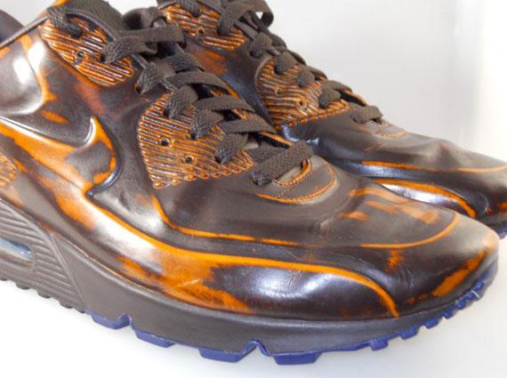dc9e15bb0f75a ... sneakers 69841 8e39c; ireland nike air max 90 vt velvet brown sample  sneakernews d99fb 658c6