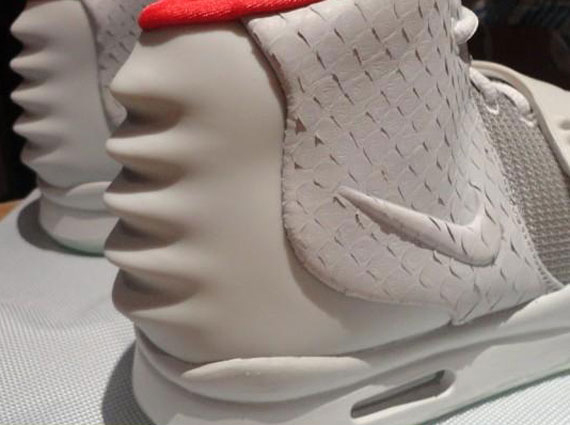 5570cc6a688 Nike Air Yeezy 2  Pure Platinum  - Detailed Look - SneakerNews.com