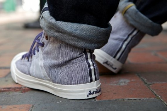 Converse First String Jack Purcell Johnny Hi + Ox 2897429be