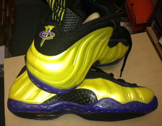 Nike Air Foamposite One 'Lakers