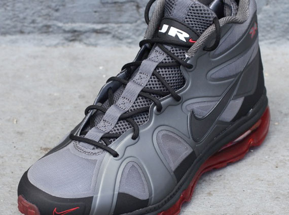 Nike Air Max Griffey Fury - Dark Grey - University Red  d05f3cefc