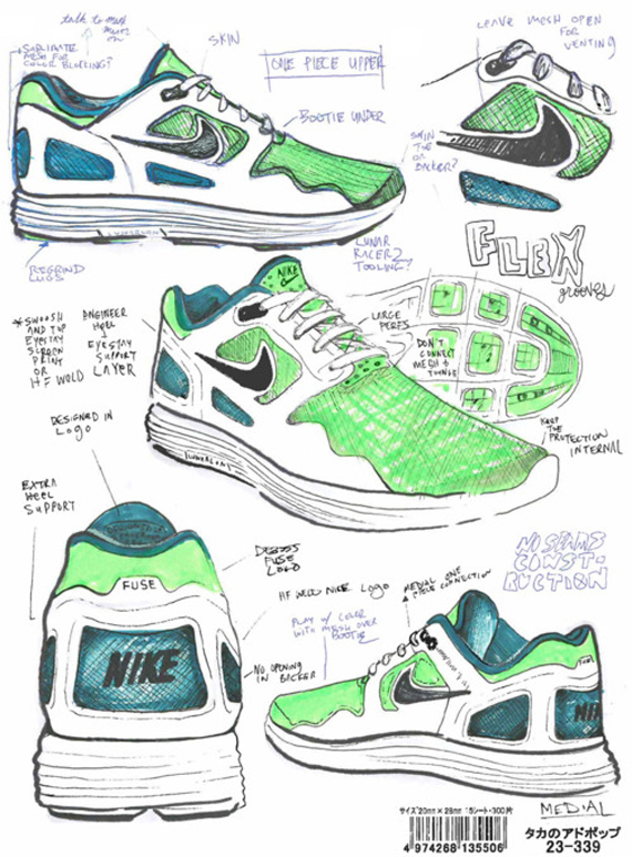 Shoe Brand Drawing