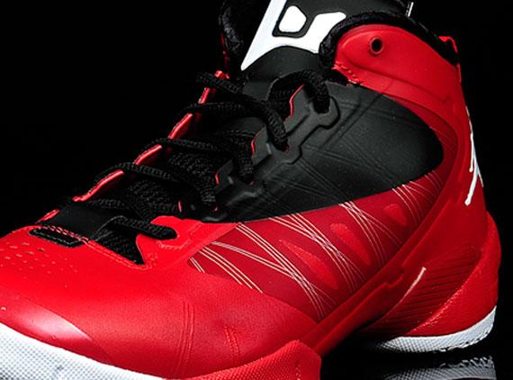 best cheap ac8fe 57898 Jordan Fly Wade 2 EV - Gym Red - White - Black - SneakerNews.com