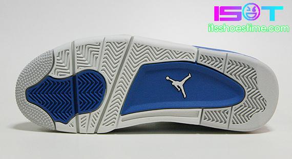 new arrival e848d 11c68 Air Jordan IV Retro - Military Blue | Detailed Look ...