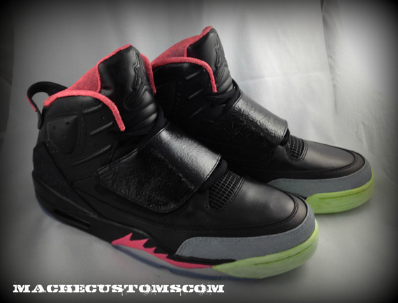 save off a8f20 f8291 Jordan Son Of Mars 'Son Of Yeezy' Customs By Mache - New ...