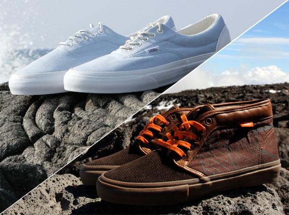 Sig Zane for Kicks/HI x Vans Vault Makua to Makai Pack